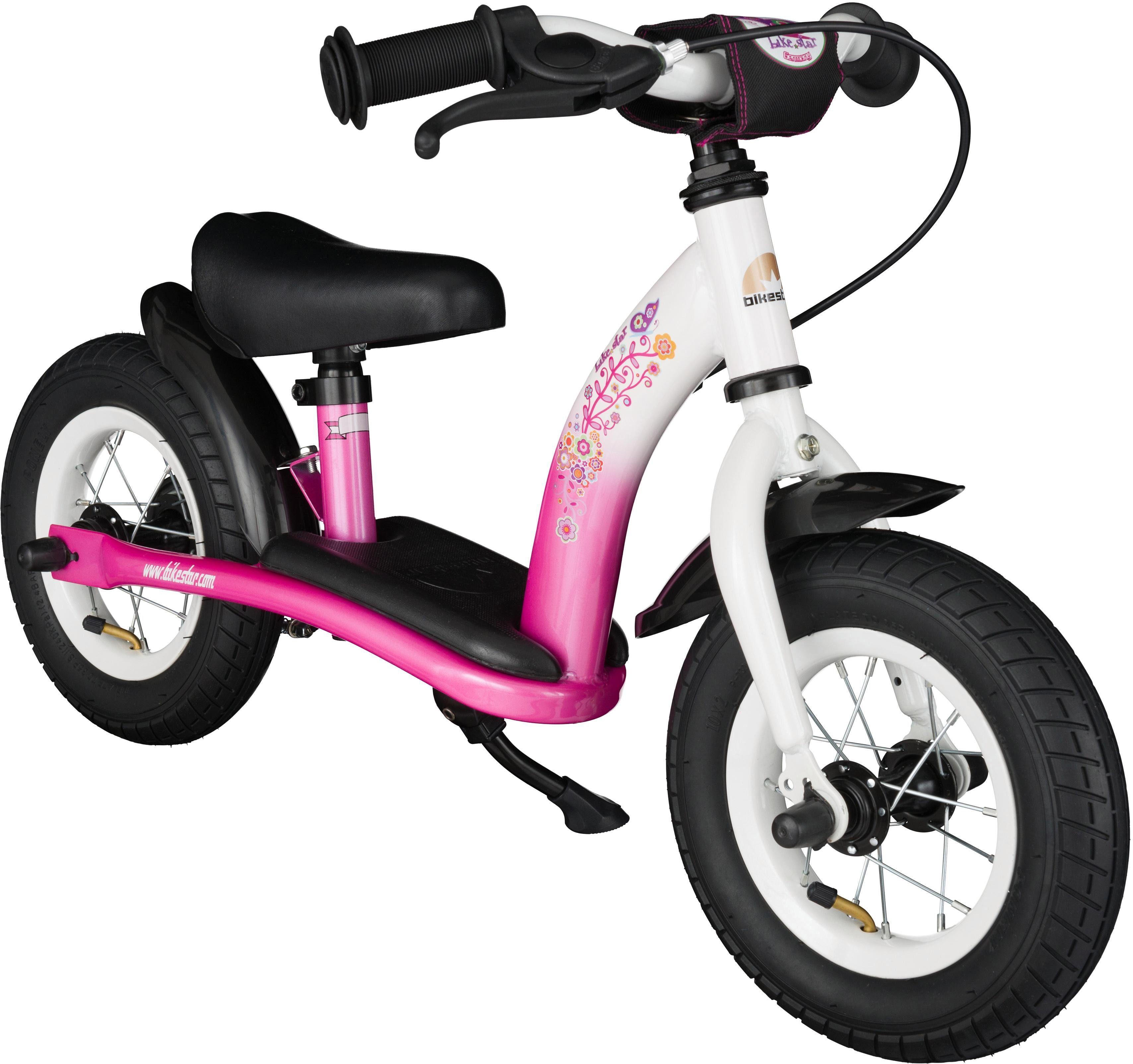 Bikestar Laufrad »Classic, Pink Weiß, 10 Zoll« 10 Zoll