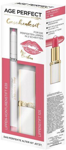 L'ORÉAL PARIS Geschenk-Set »Age Perfect Berbens Lippen-Set«, 2-tlg.
