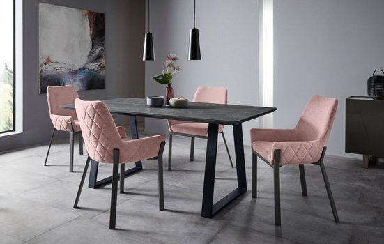 Places of Style Stuhl »Lome« (Set, 2 Stück)