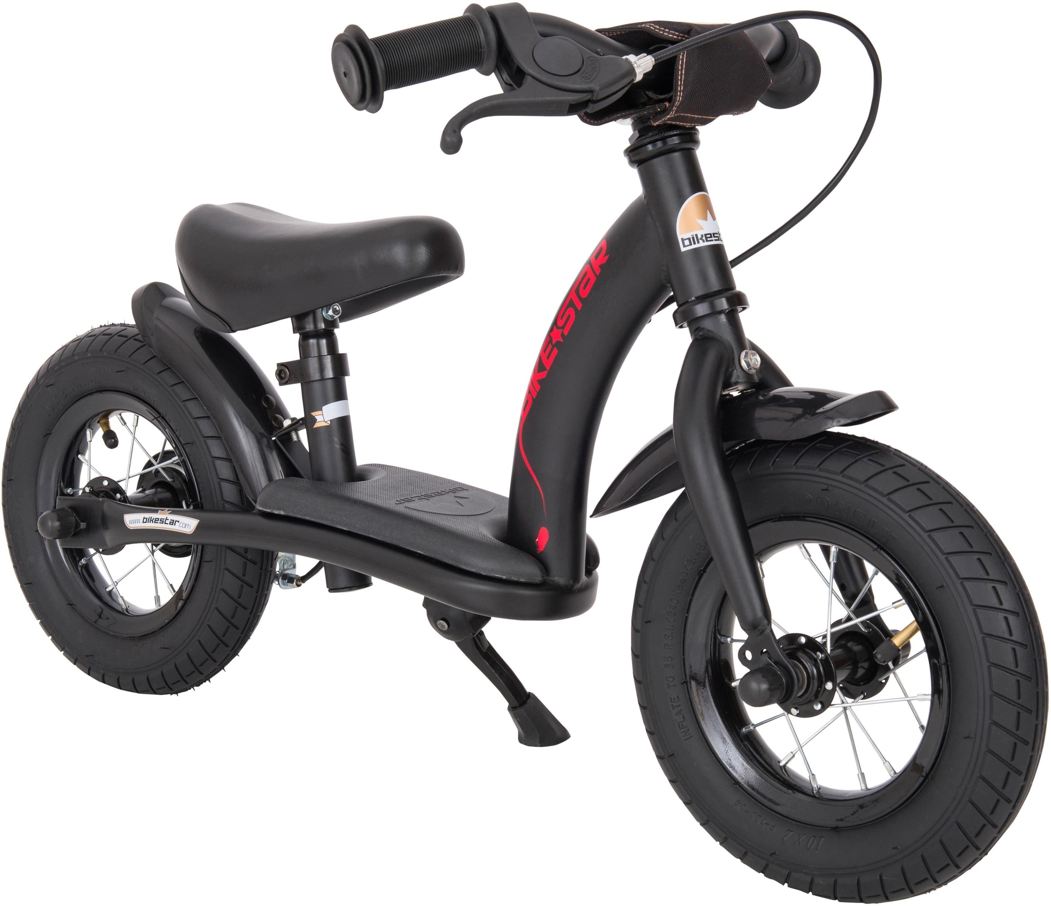 Bikestar Laufrad »Classic, Schwarz, 10 Zoll« 10 Zoll