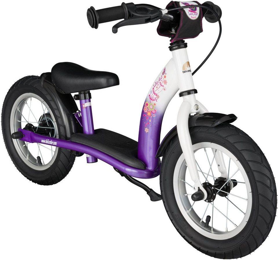Bikestar Laufrad,  Classic, Lila Weiß, 12 Zoll