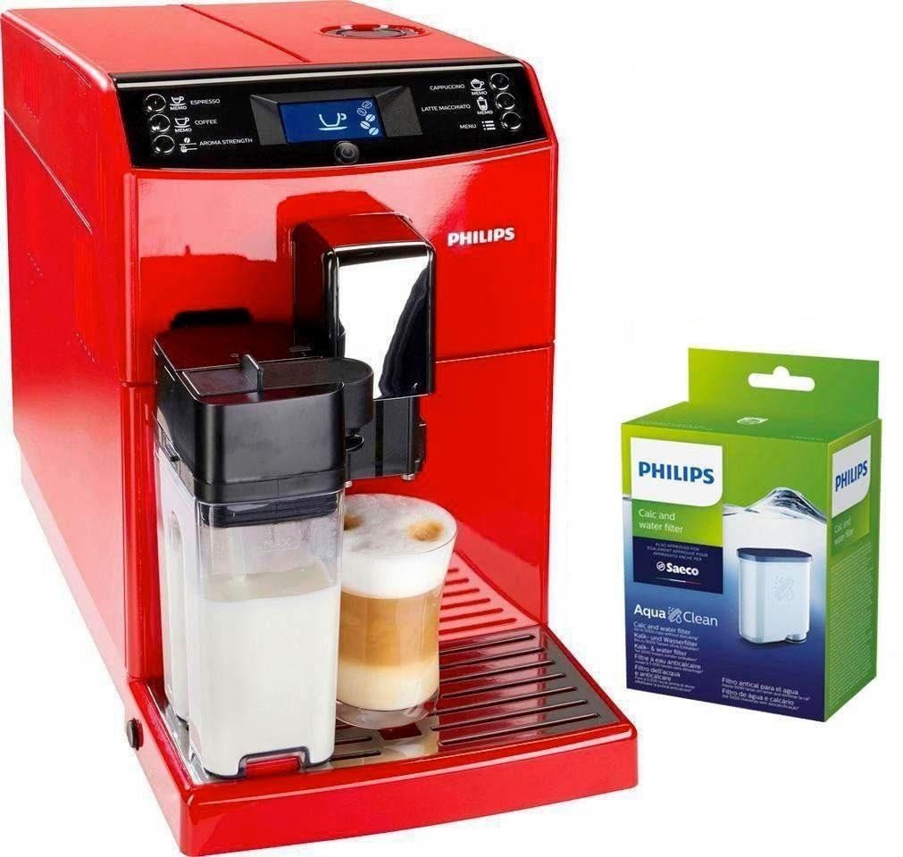 Philips Kaffeevollautomat EP3363/00, inkl. 1 AquaClean Filter