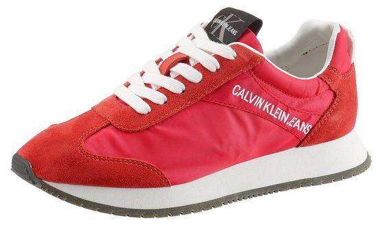 Calvin Klein »Jill« Sneaker im lässigen Materialmix