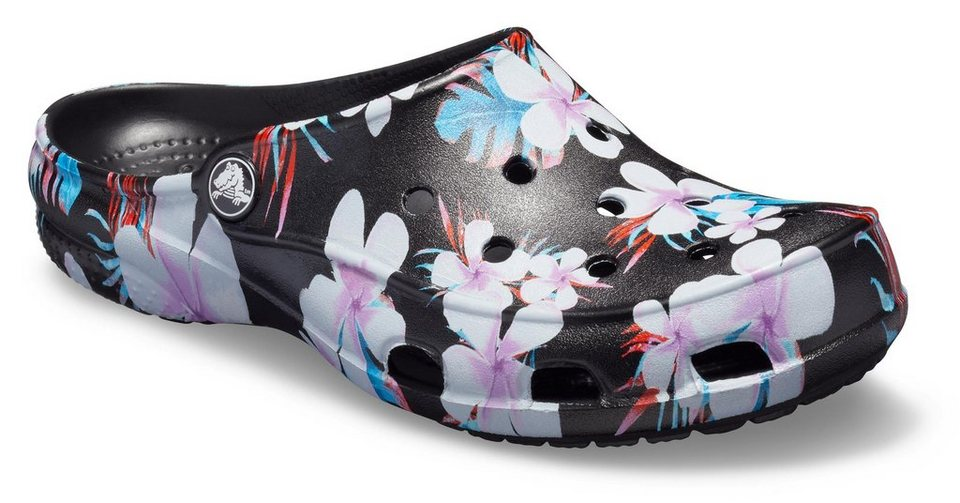 crocs crocs freesail seasonal clog w pantolette mit buntem blumen motiv online kaufen otto. Black Bedroom Furniture Sets. Home Design Ideas