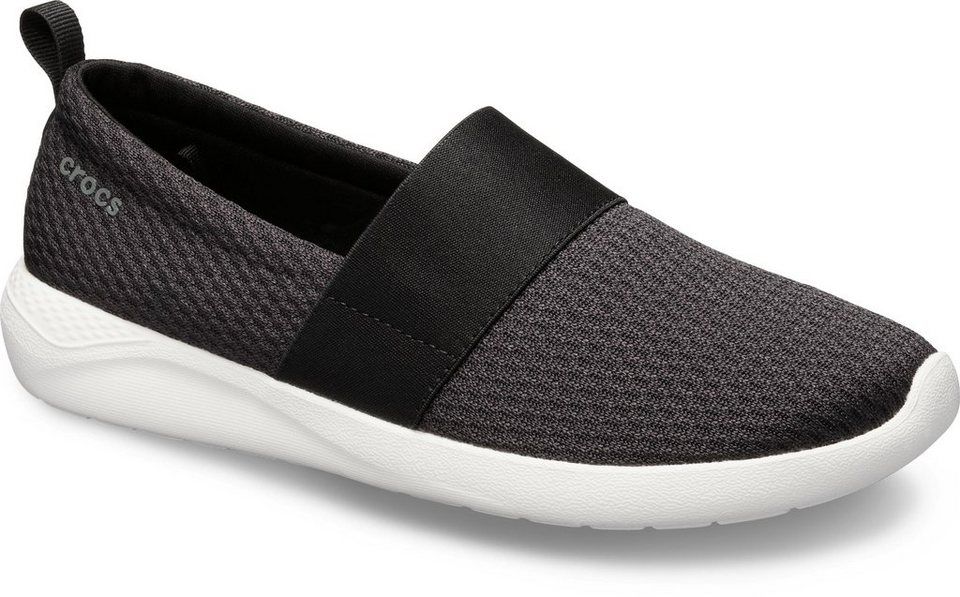 crocs literide mesh slip on w slipper bequemer slipper mit gummizug online kaufen otto. Black Bedroom Furniture Sets. Home Design Ideas