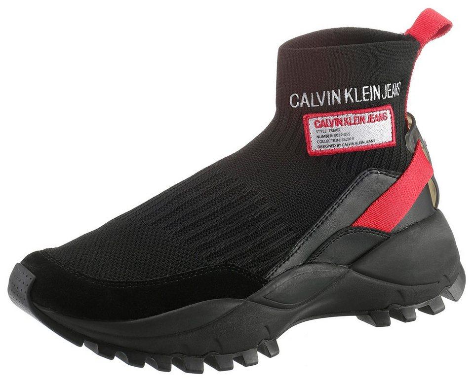 b22aca26d9067d Calvin Klein »Tysha« Sneaker mit derber Laufsohle