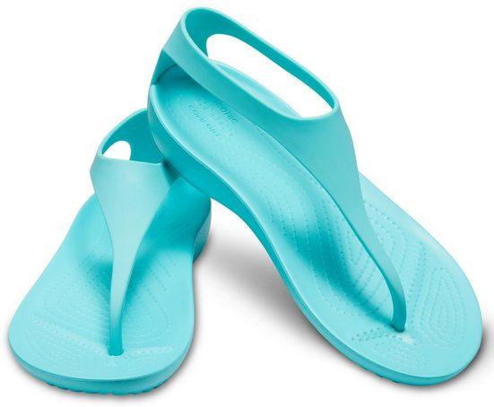 Sandale »pool Modernem Crocs Serena Mit Zehensteg Flip W« ZaIwvUq