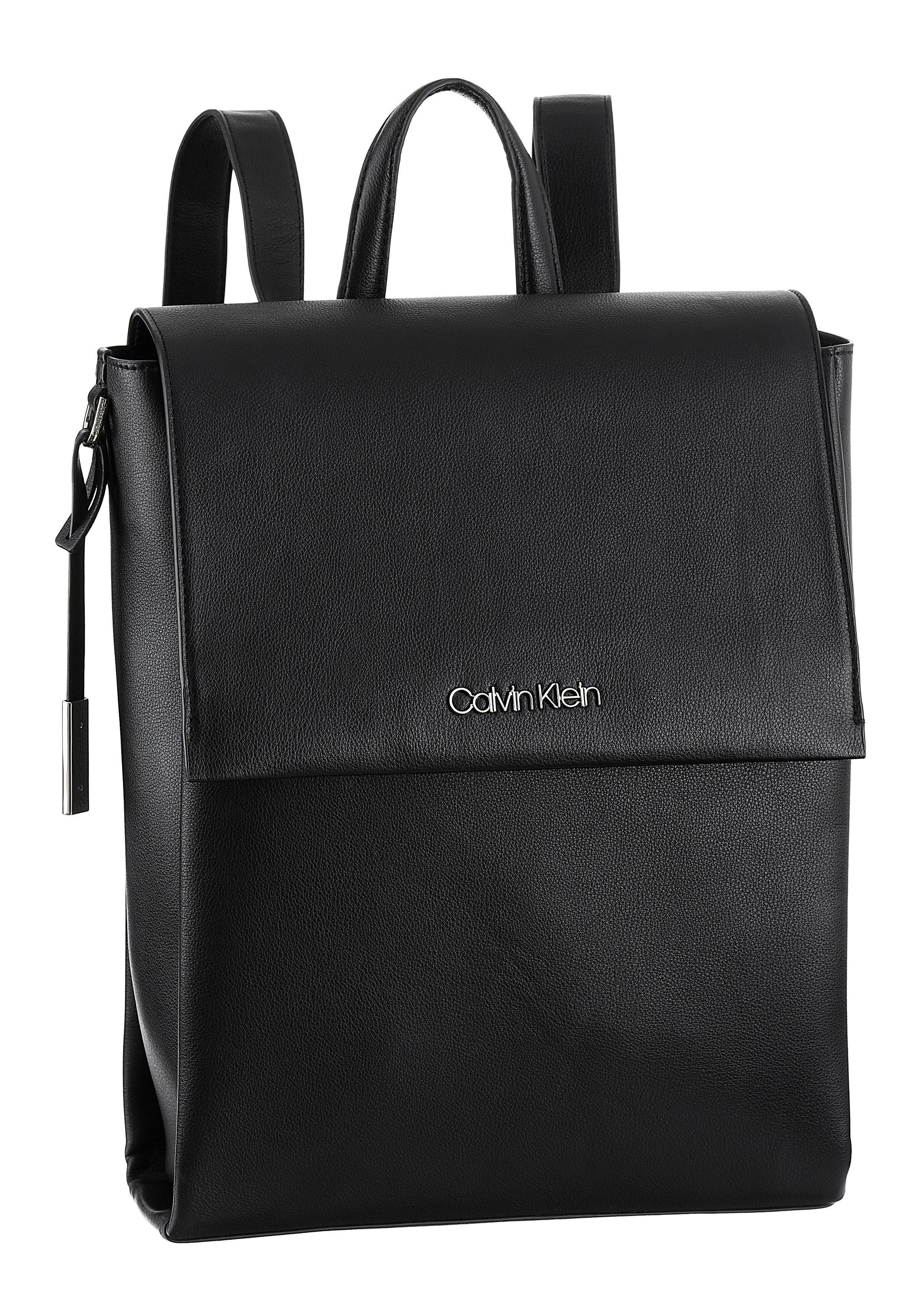 Mit Cityrucksack Backpack« »avant Calvin Abnehmberem Logoanhänger Klein aUvqHxRI