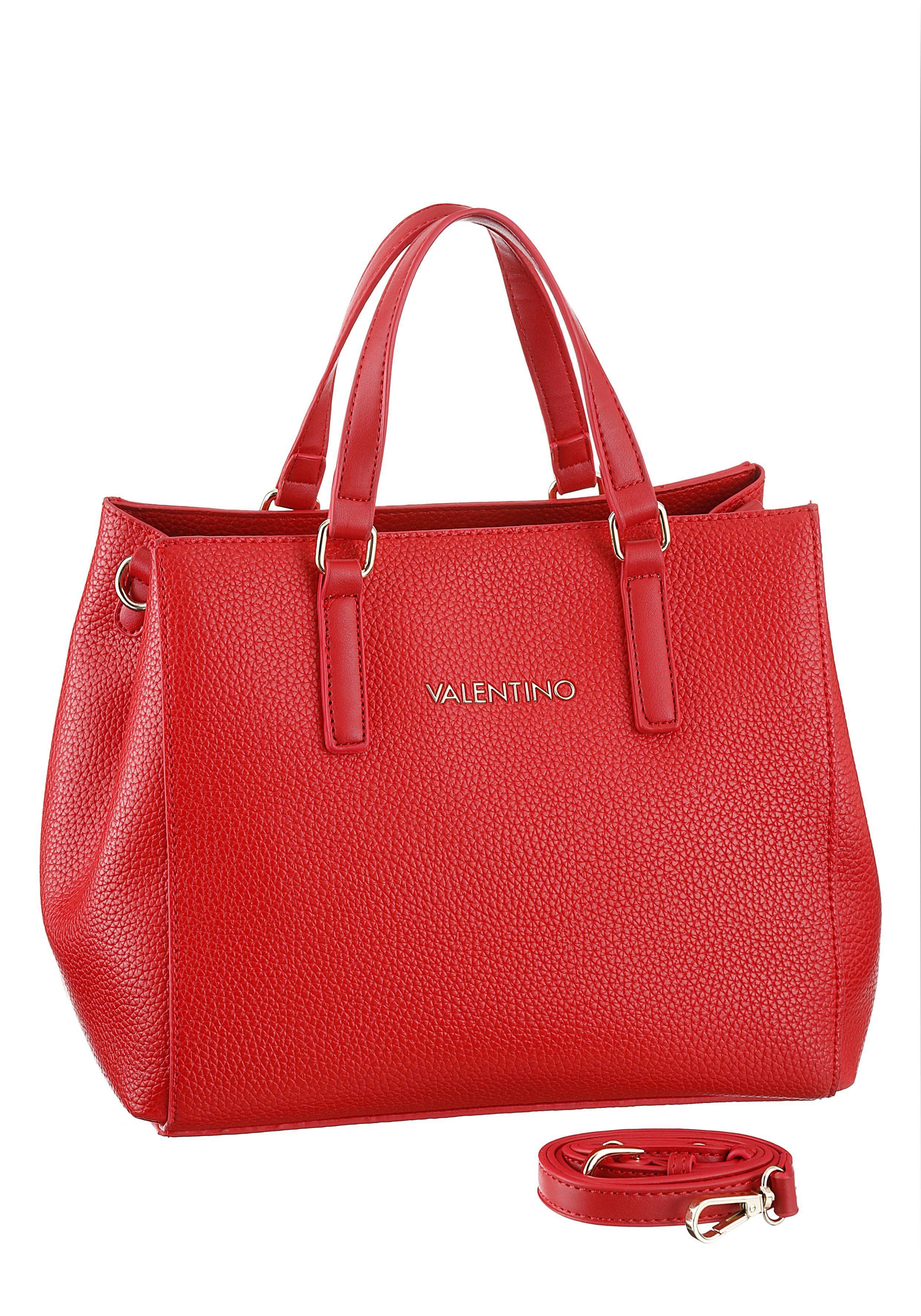 Valentino handbags Henkeltasche, mit silberfarbenen Details