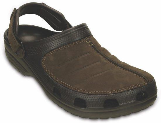 Crocs »Yukon Mesa Clog M« Clog mit Leder besetzt