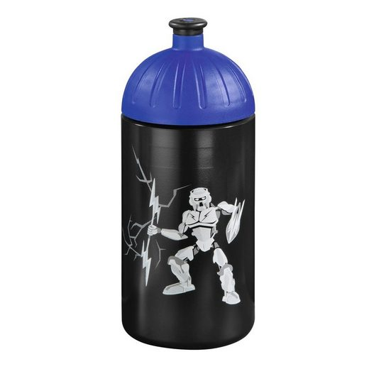 """Step by Step Trinkflasche """"Strongly Robot Roboter"""" Schwarz"""