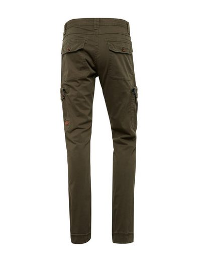 Chinohose »travis Tailor Regular Cargohose« Tom Dunkelgrün n0wOPk