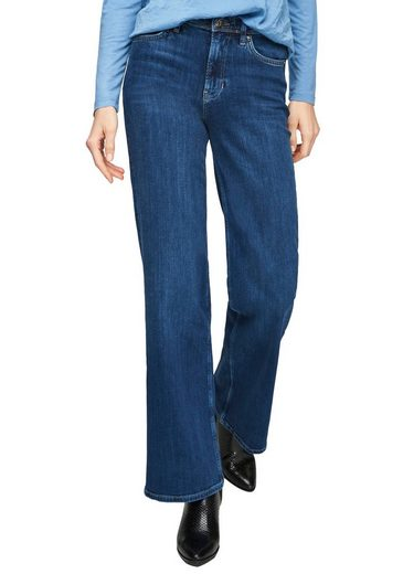s.Oliver Bootcut-Jeans in klassischer Waschung