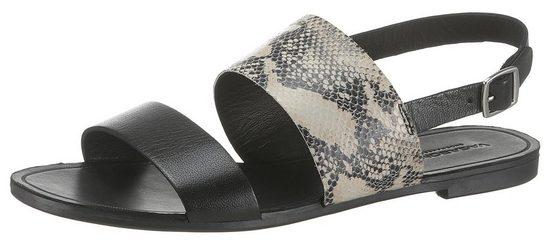 Vagabond Sandale mit Schlangenoptik