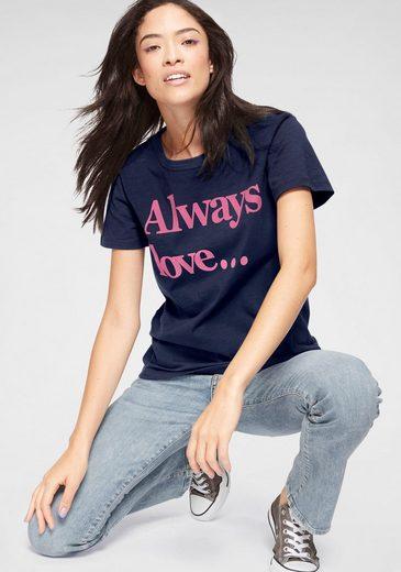 LTB T-Shirt »GONILAZ« mit großem Statement-Print