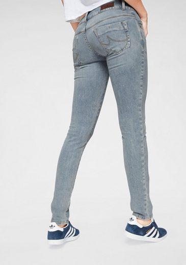 LTB Slim-fit-Jeans »MOLLY« mit 2-Knopfbund und Kontrastnähten