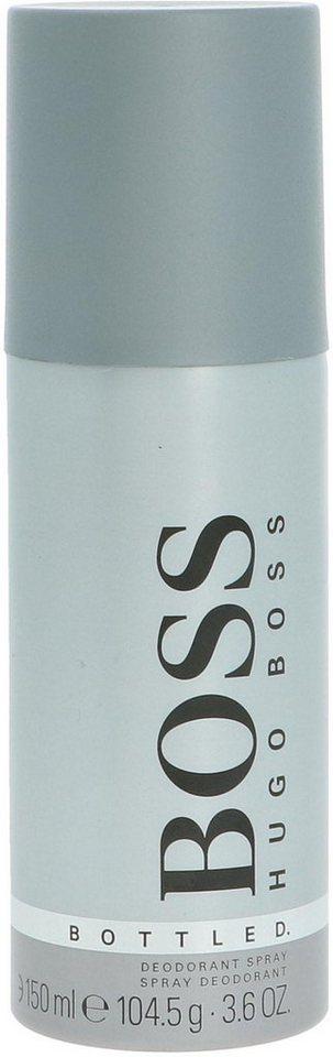 hugo boss deo spray bottled duftnote holzig w rzig. Black Bedroom Furniture Sets. Home Design Ideas
