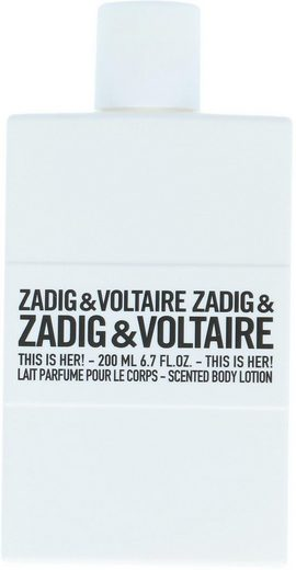 ZADIG & VOLTAIRE Bodylotion »This is Her!«