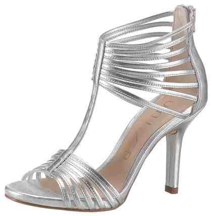 Unisa High-Heel-Sandalette im eleganten Metallic-Look