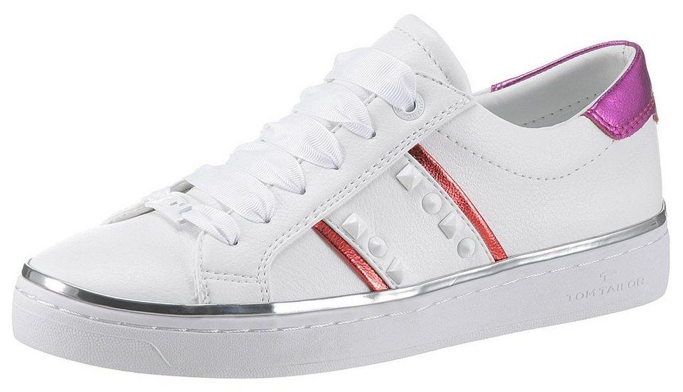sale retailer 41ce6 fb9ca TOM TAILOR Sneaker mit metallischen Farbhighlights