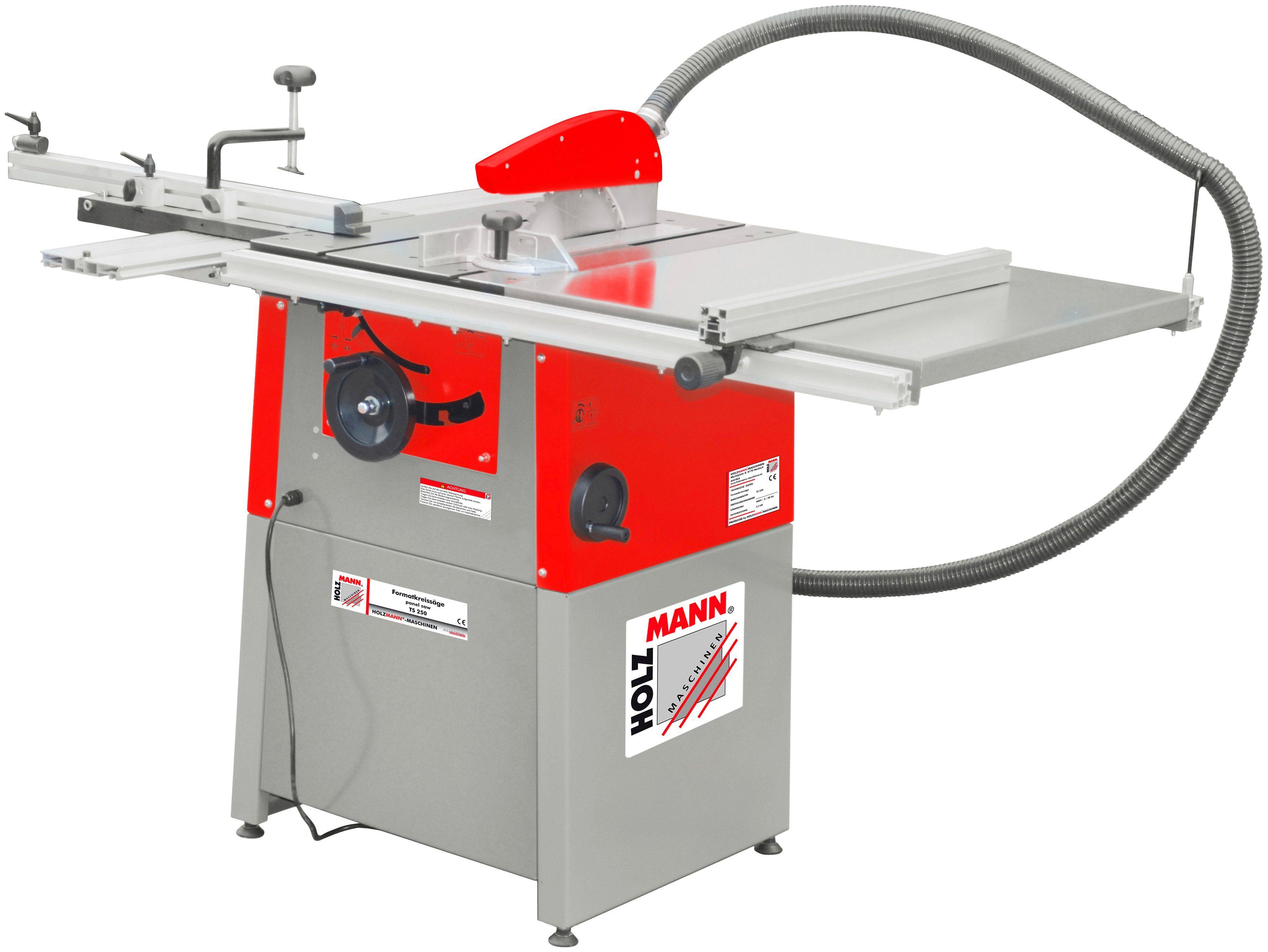 HOLZMANN-MASCHINEN Tischkreissäge »TS250_400V«, 2200 W, 254 mm