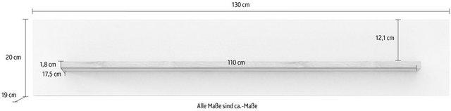 Küchenregale - INOSIGN Wandregal »Loft III«, Breite 130 cm  - Onlineshop OTTO