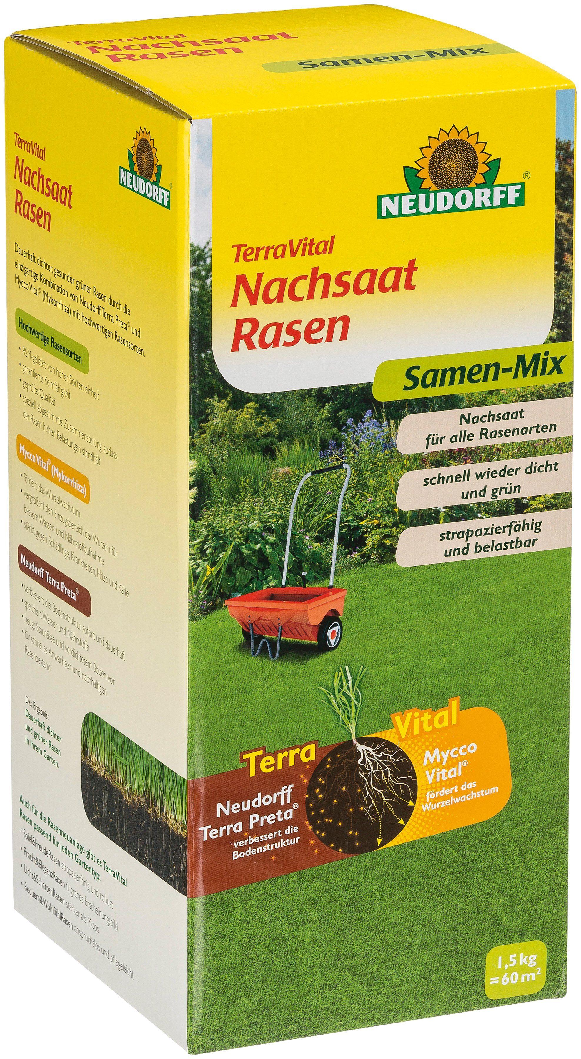 NEUDORFF Nachsaatrasen »TerraVital«, 1,5 kg