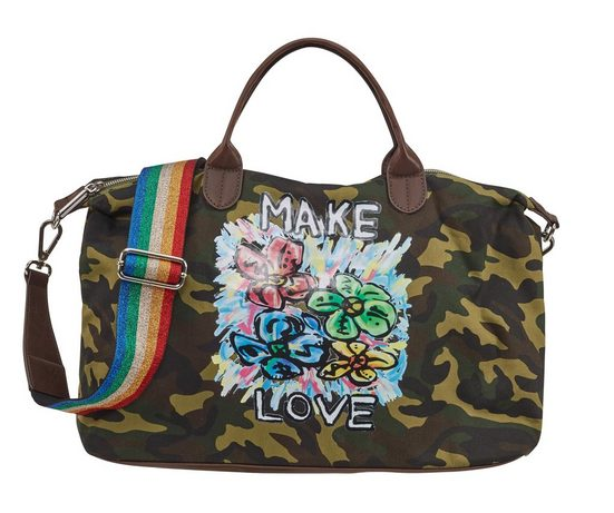 Stuff Maker »graffity Shopper Print Mit Geblümten Flower« gZg7Or
