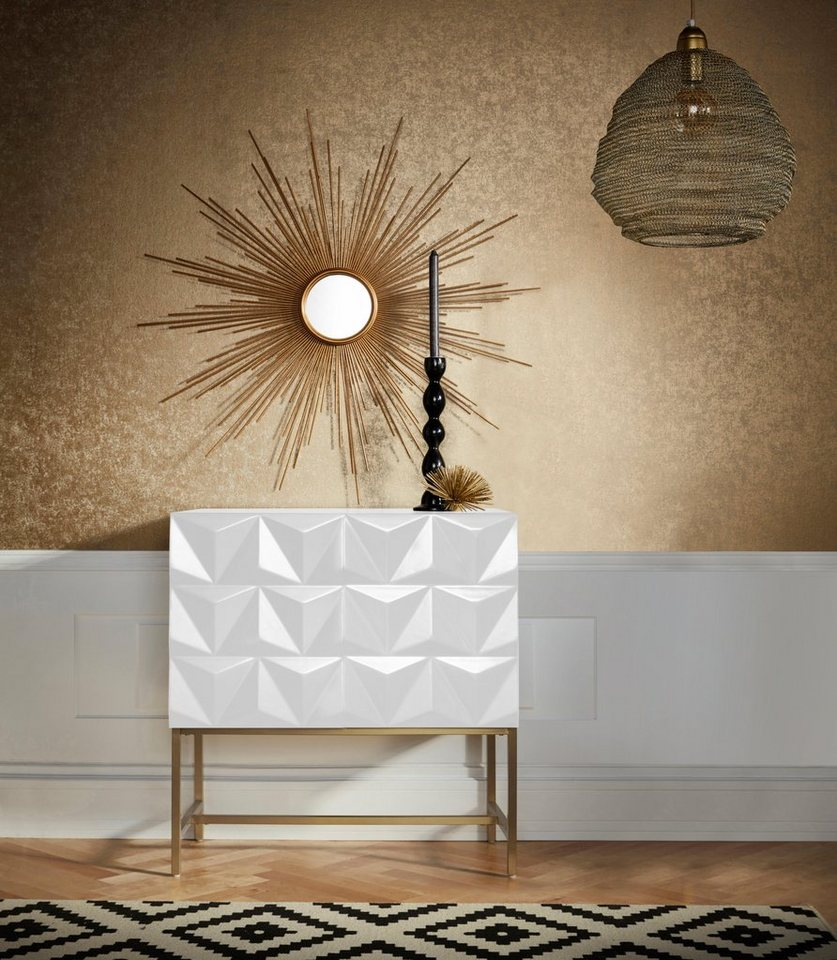 leonique sideboard rovuma mit zwei t ren mit soft close. Black Bedroom Furniture Sets. Home Design Ideas