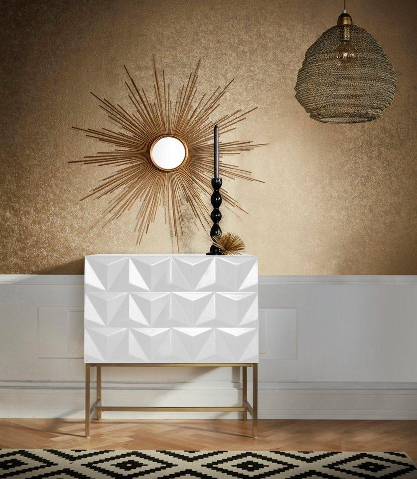 leonique sideboard rovuma mit zwei t ren mit soft close funktion breite 80 cm online kaufen. Black Bedroom Furniture Sets. Home Design Ideas