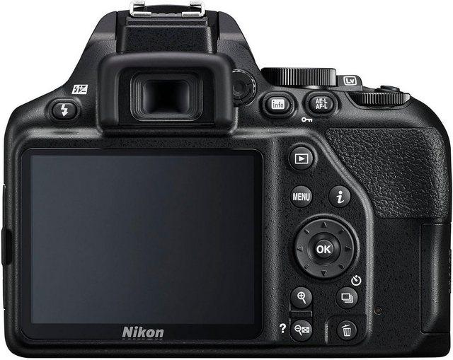 Spiegelreflexkameras - Nikon »D3500 AF S DX 18–105 VR« Spiegelreflexkamera (AF S DX NIKKOR 18–105 mm 1 3,5–5,6G ED VR, 24,2 MP, Bluetooth)  - Onlineshop OTTO