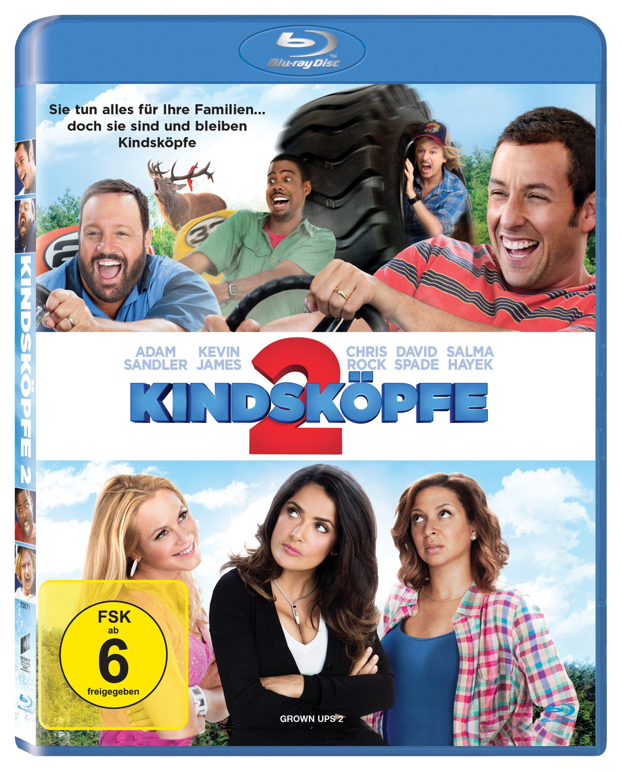 Sony Pictures Blu-ray »Kindsköpfe 2«