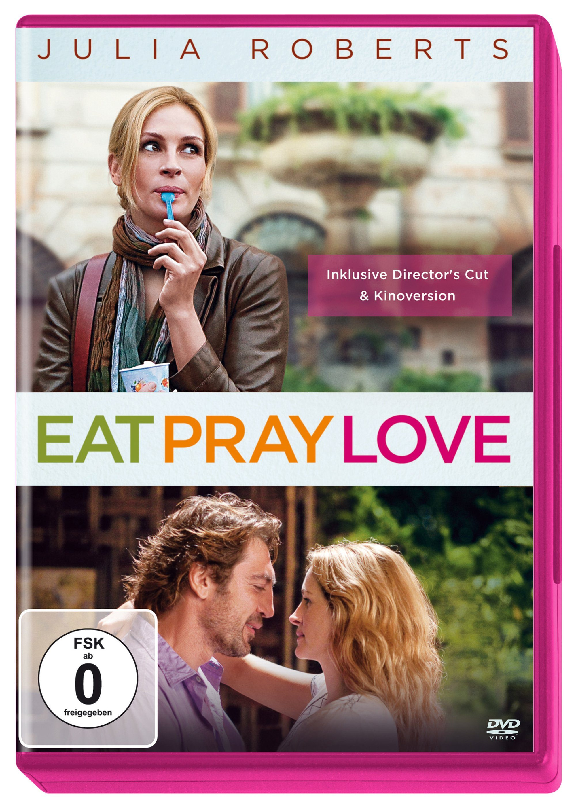 Sony Pictures DVD »Eat, Pray, Love - Girls Night Amaray Pink«