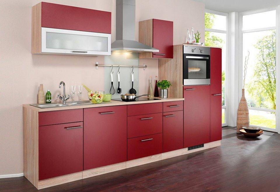 Wiho Küchen Küchenzeile Mit E Geräten Montana Breite 300 Cm Online Kaufen Otto