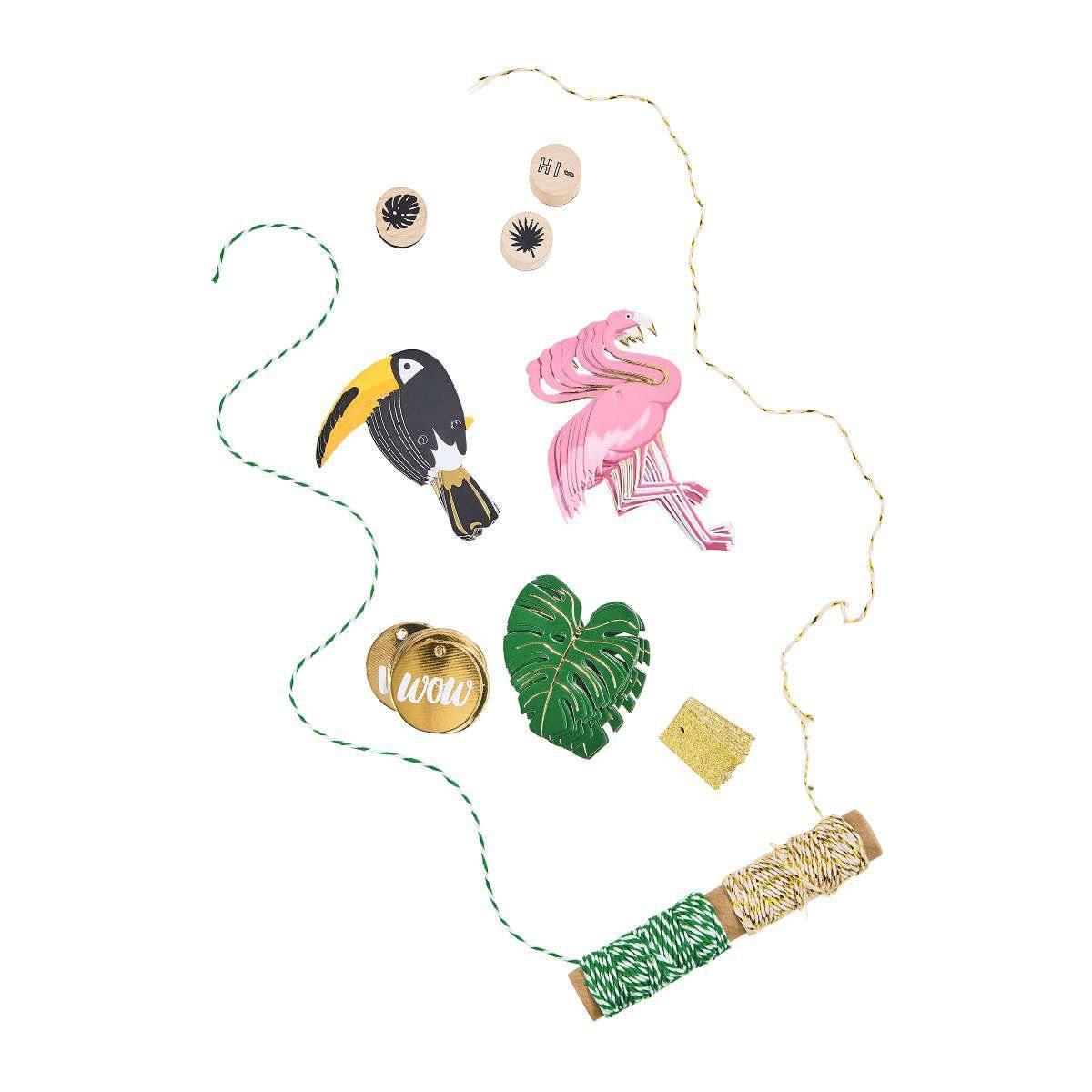BUTLERS MIAMI »Geschenkverpackung Set Flamingo«