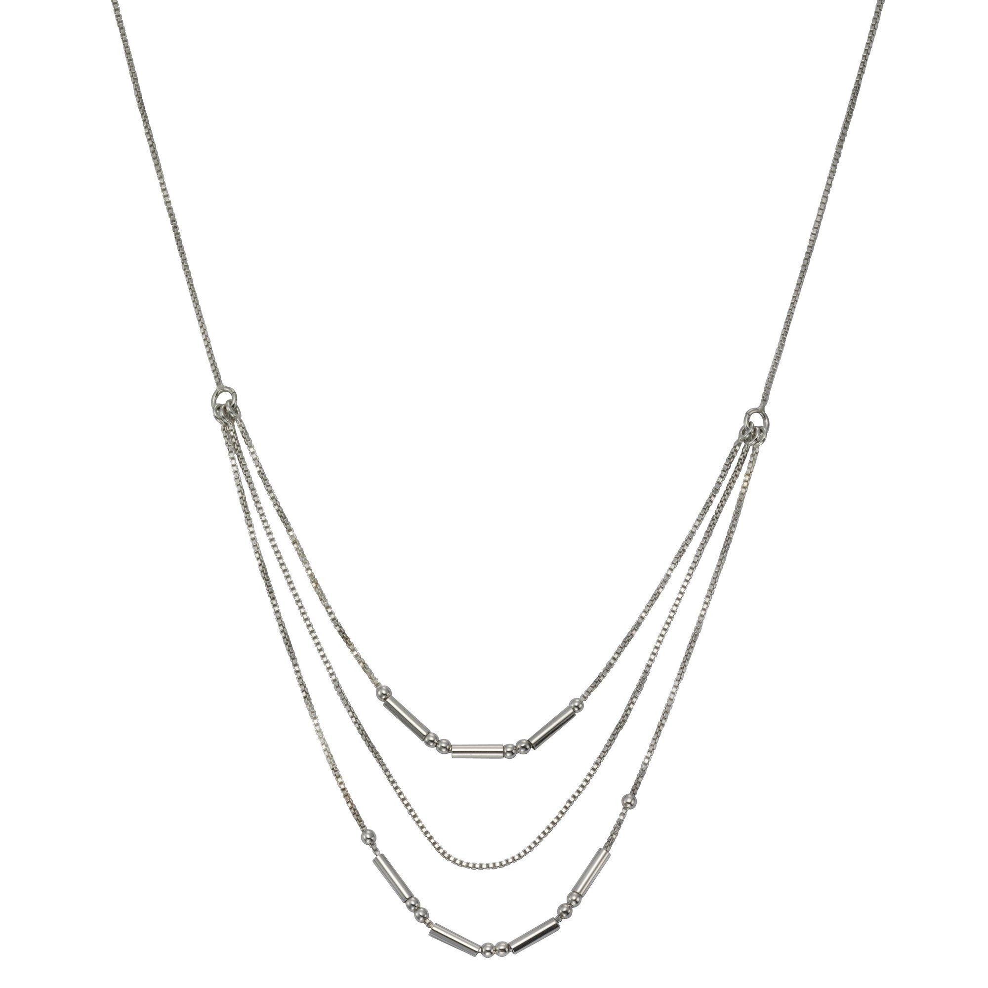 VIVANCE Collier »925-/ Sterling Silber rhodiniert«