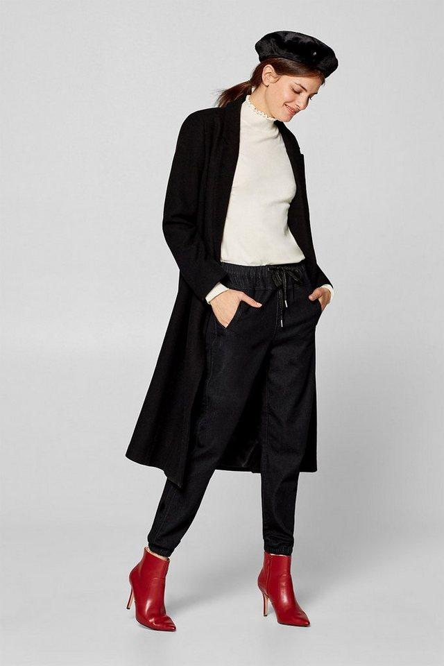 Esprit Weiche Stretch-Jeans in lässigem Jogger-Stil