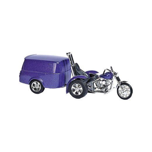 Busch Trike mit Anhänger H0