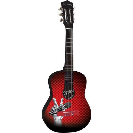 Lexibook® The Voice: Akustik-Gitarre, 78 cm