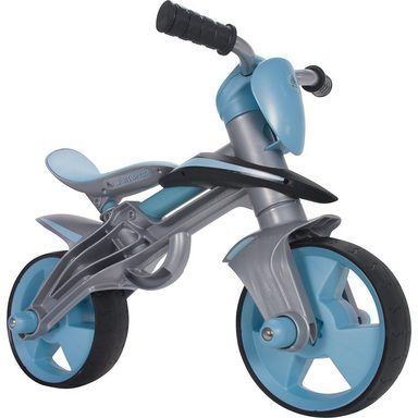 INJUSA Laufrad Jumper Balance Bike mit Helm, blau