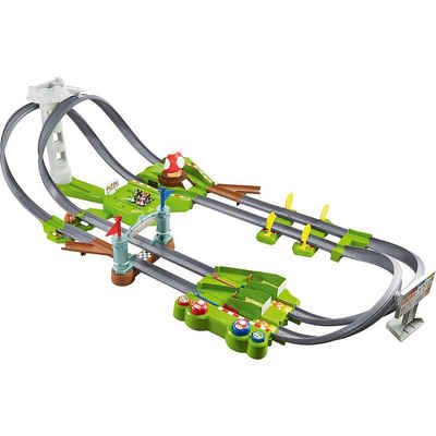 Mattel® Autorennbahn »Hot Wheels Mario Kart Mario Rundkurs Trackset,«