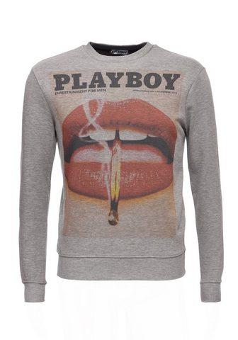 PLAYBOY Sportinio stiliaus megztinis su angesa...
