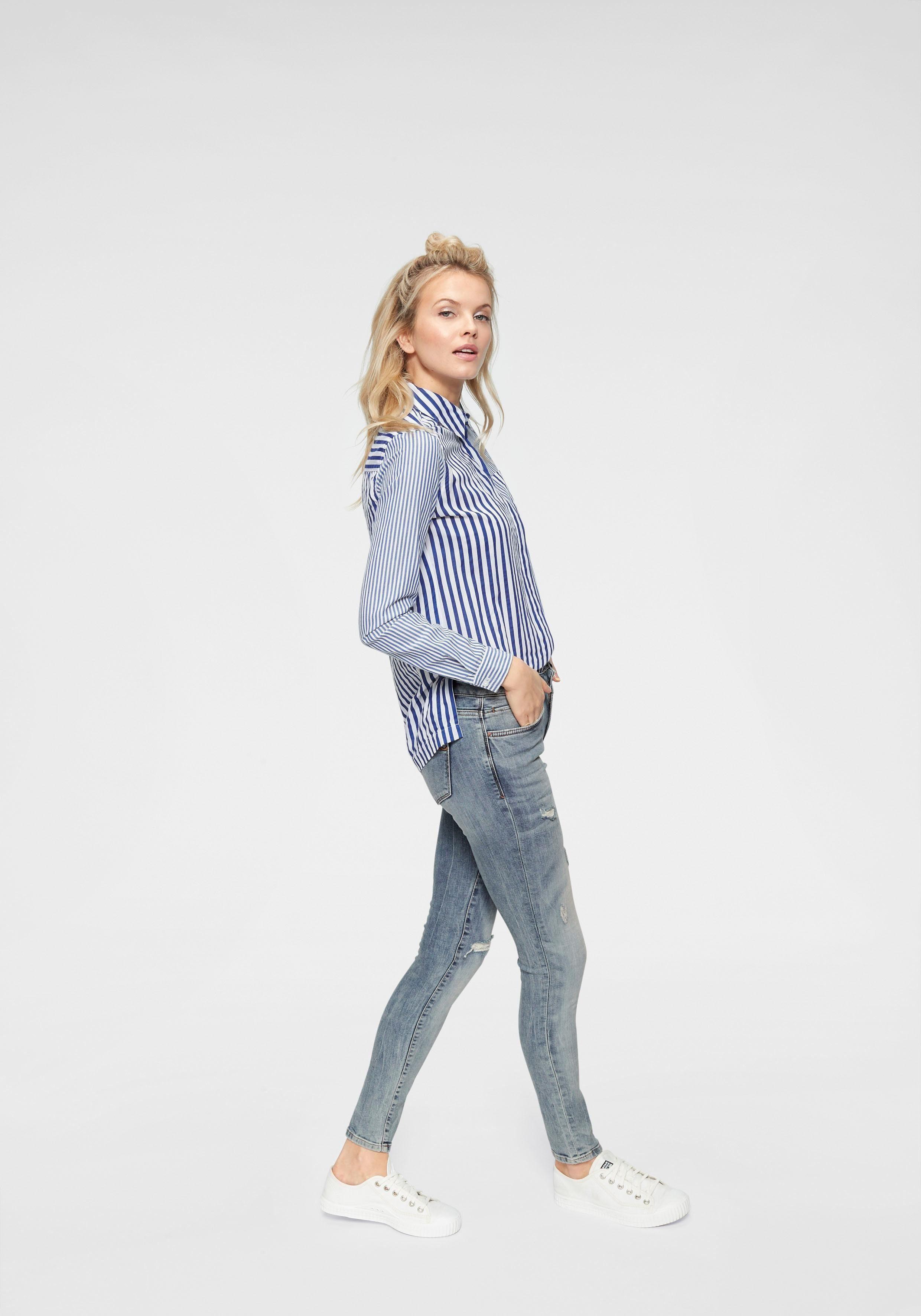Online Mit Ltb Skinny anteilBaumwollqualität Stretch fit Für Sitz Kaufen Elasthan Optimalen »nicole« jeans E92YbWIHeD