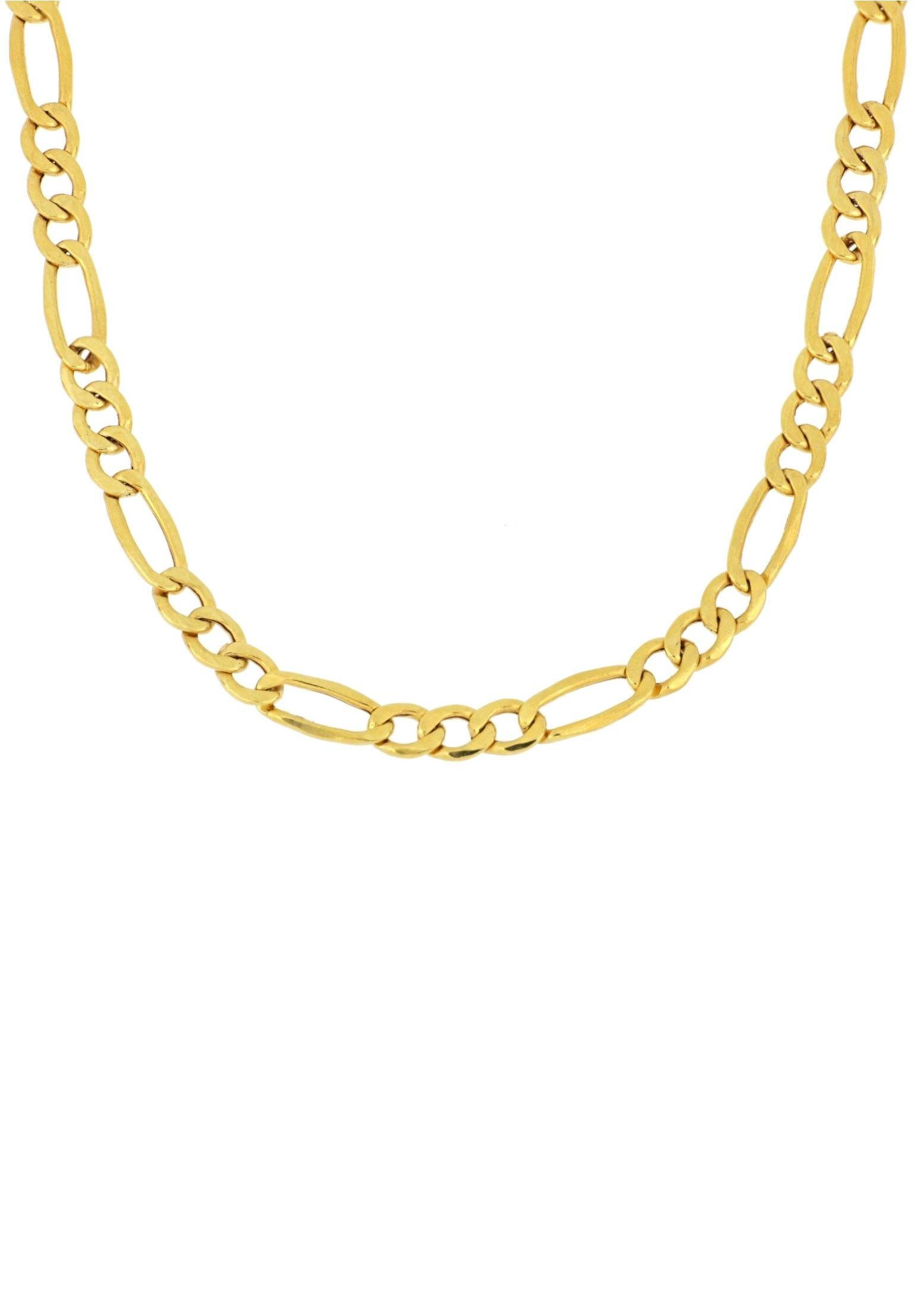 Firetti Goldkette »in Figarokettengliederung, glanz«