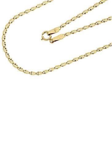 Firetti Goldkette »in Ankerkettengliederung, quadratisch geprägt, gedreht«
