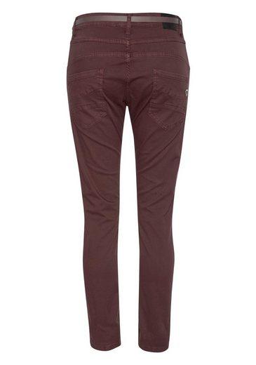 Mit Boyfriend »p78a« Denim Jeans Colored Gürtel Please hose aY5wxZaq