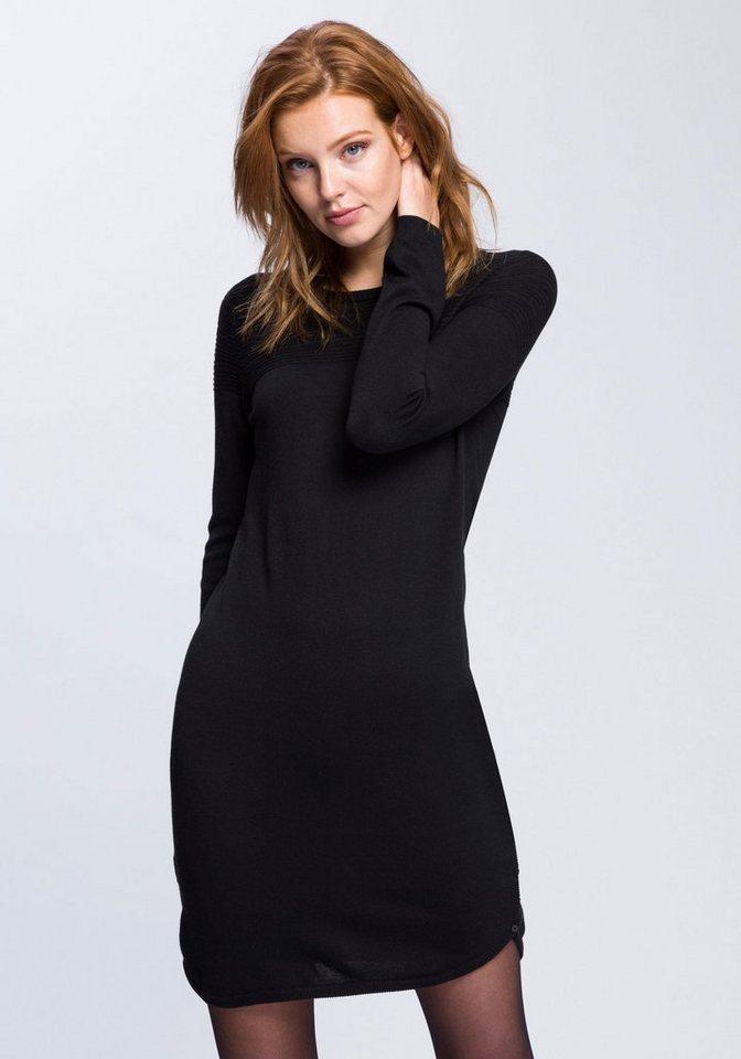 0d77595d425a Esprit Strickkleid mit seitlichen Knopfleisten am Saum online kaufen ...