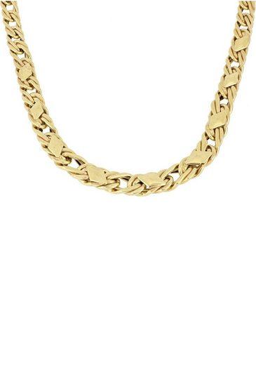 Firetti Goldkette »Fantasiekettengliederung mit rautenförmigen Plättchen, 6,5 mm«