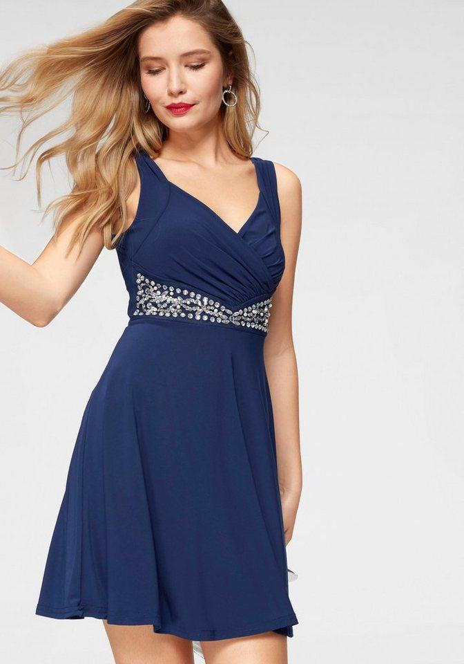 99f5dff558c8c7 Melrose Partykleid mit Ziersteinen und Pailletendetails online ...