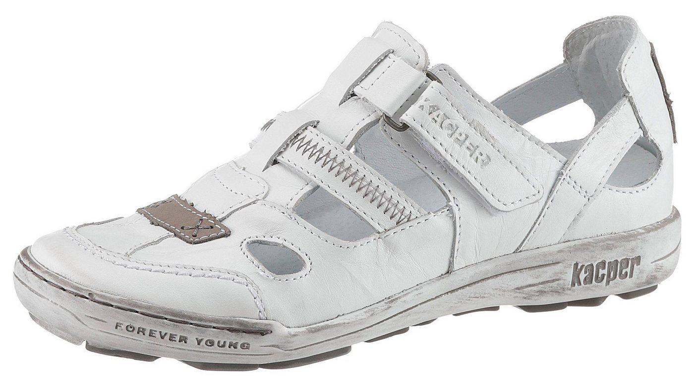 KACPER Kletterschuh mit modischen CutOuts | Schuhe > Outdoorschuhe > Kletterschuhe | Weiß | Leder | KACPER